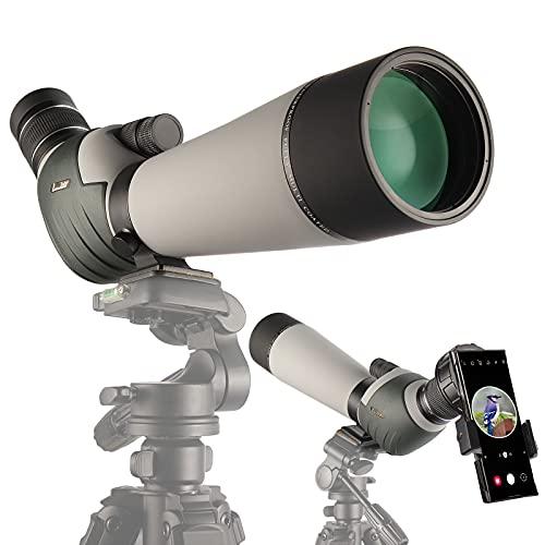 LANDOVE 20-60X80 Spotting Scopes, Dual Focus BAK4 HD Optics...
