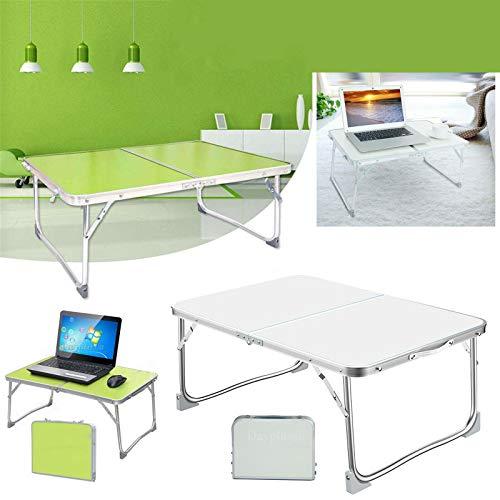 Mesa plegable para ordenador portátil, mesa de café, para uso en interiores y exteriores, para barbacoa, picnic, jardín, camping, plegable, 60 x 40 x 26 cm (desplegable) 40 x 30 x 4 cm (plegable)