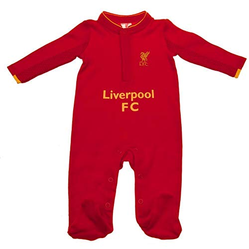 Liverpool FC Baby GD Sleepsuit (12-18 Months) (Red)