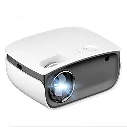 XVCB - Proyector de vídeo WiFi, mini proyector, proyector Hi-Fi 1080P, soporta el proyector de cine casa de 300 pulgadas con teléfono/PC/caja TV/proyector LED.