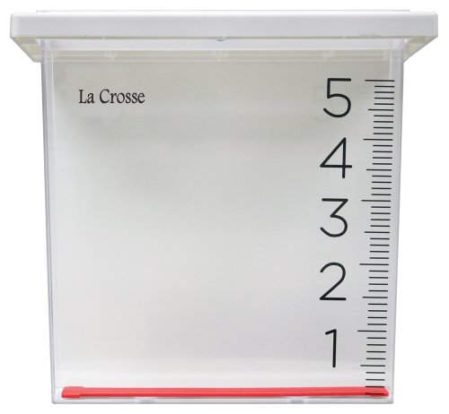 La Crosse 705-109 Waterfall Rain Gauge