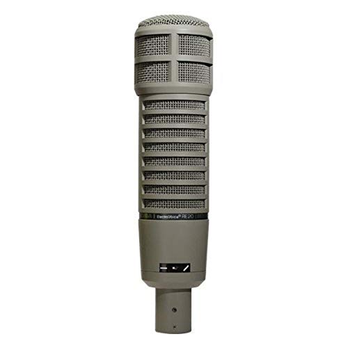 Electro-Voice RE20 Broadcast Announcer Microphone