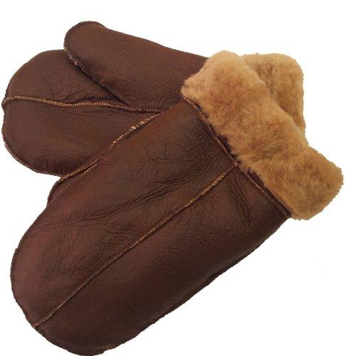 Unicorn London - Gants - Homme - Marron - brown/ginger fur - petit