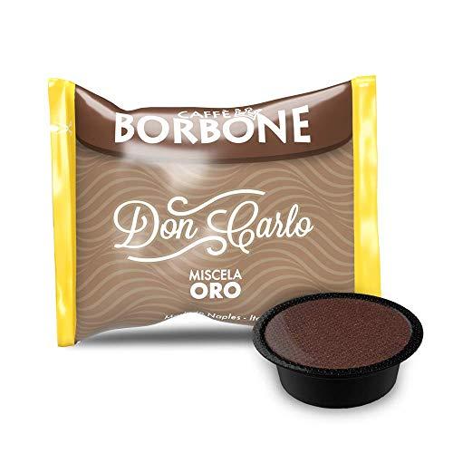 capsule caffè Borbone compatibili a modo mio miscela nera rossa blu oro dek pz. 50 100 200 300 400 500 (50, Miscela oro)