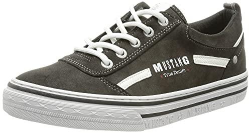 MUSTANG Damen 1354-314-20 Sneaker, dunkelgrau, 39 EU