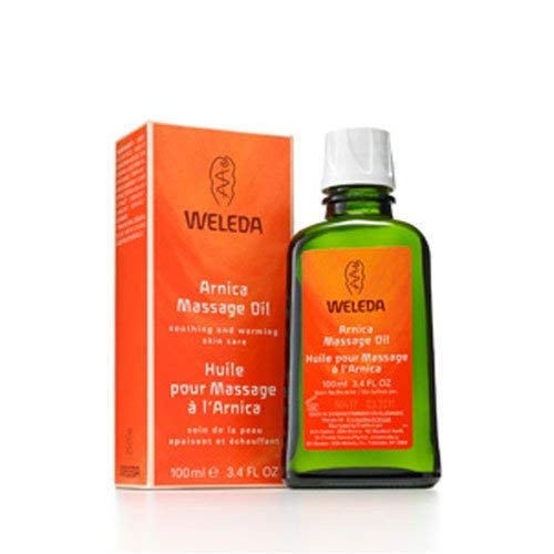 Weleda Arnica Massage Oil - 3.4 Ounce, (Pack of 2)