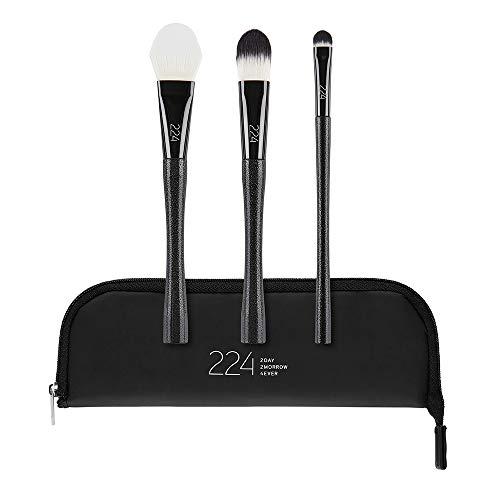 224 Cosmetics Face Juego de brochas de maquillaje - vegan , no testada en...