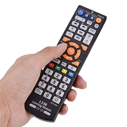 Yyqtgg. Universal Fernbedienung Steuerung, Clever Regler mit Lernen Funktion zum Fernseher Köder DVD Sat, Gleich Funktion von Original Fernbedienung Steuerung