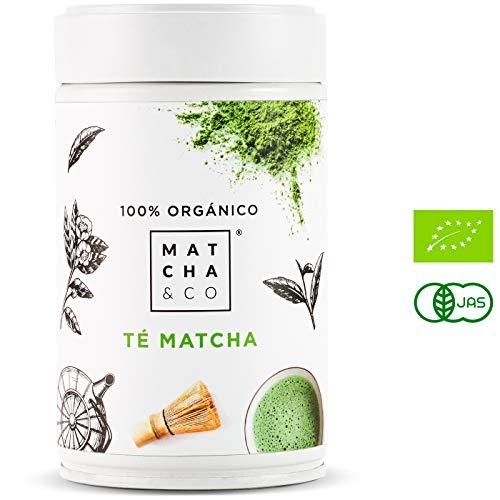 Matcha 100% Ecológico (80 g) | Té verde en polvo Orgánico de Japón