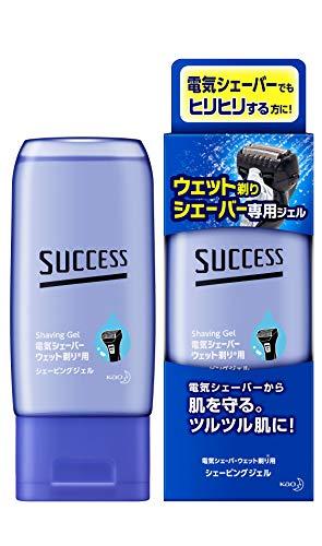花王サクセス『ウェット剃りシェーバー専用ジェル』