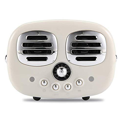 DFBGL Giradischi fluidi, grammofono Bluetooth, fonografo Senza Impronte digitali Pulsanti fisici ad Alta Resistenza all'Usura 360 °;Stereo Surround, Bianco