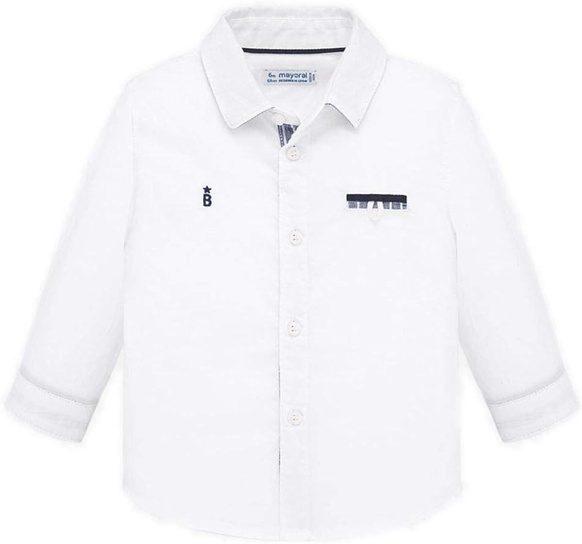 Mayoral Camisa M/L elegante para niño: Amazon.es: Ropa