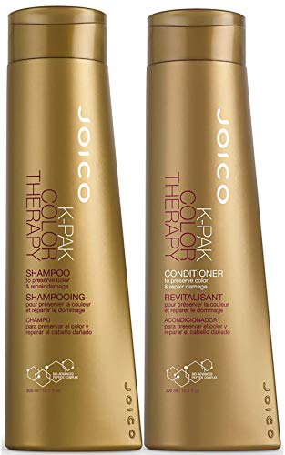 Joico K-pak Color Therapy Shampoo & Conditioner, 10.1 Oz