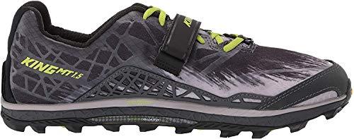 ALTRA Men's AFM1852G King MT 1.5 Trail Running Shoe, Gray/Lime - 9 M US