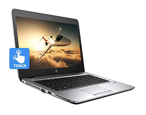 HP ELITEBOOK 840 G3 14in Touchscreen LAPTOP INTEL CORE i5-6200U 6th GEN 2.30GHZ WEBCAM 8GB RAM 180GB SSD WINDOWS 10 PRO 64BIT (Renewed)