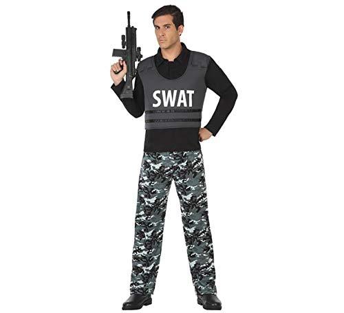 Atosa - 49980 - déguisement Policier swat XXL