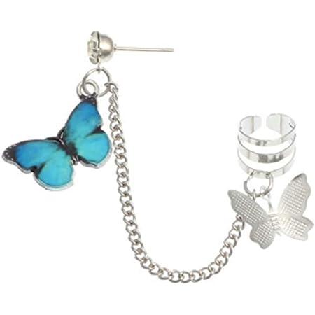 Seashell Butterfly Ear Cuff Earring