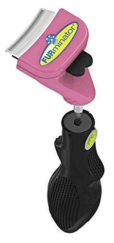 FURminator FURflex, Fellpflegebürste für kleine Katzen, deShedding-Tool zur Entfernung der Unterwolle, Größe S