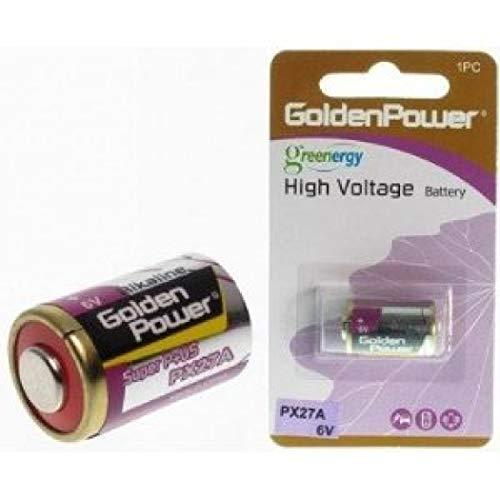 Golden Power PX27G (alternativ für PX27, PX27A 5,4V, 4AG12, 4LR43, 4NR43, EPX27, KX27, V27PX, U27PX) 6V Alkaline quecksilberfrei