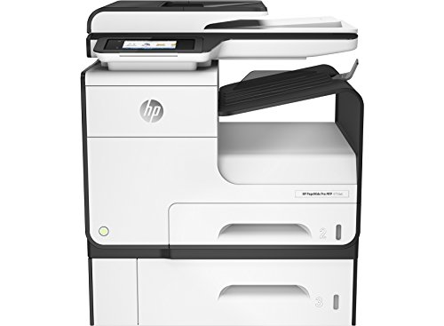 HP PageWide Pro 477dwt 2400 x 1200 DPI, Thermischer Tintenstrahldrucker, A4, 40 ppm, WLAN, Multifunktionsgerät (Thermodruck, 2400 x 1200 DPI, 1000 Blatt, A4, Direktdruck, Schwarz, Grau)
