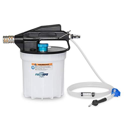 FIRSTINFO A1151EU | Purgador de Frenos Aire | Purgador de frenos | extractor neumático de aceite | con válvula antirretorno
