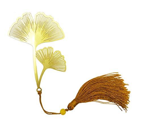segnalibro, segnalibro in metallo, palma, regali giapponesi, taglio carta, arte tagliata, libreria, regalo amante del libro, oro,