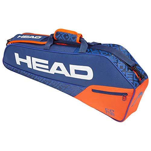 Head Core 3R PRO, Borsa per Racchetta Unisex Adulto, Blu/Arancia