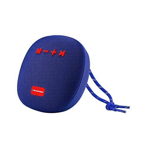Altavoz Bluetooth Potente – Altavoz Bluetooth portátil – Altavoz portátil – Altavoz portátil – Altavoz Impermeable – Inalámbrico – Altavoz Bluetooth Negro Metal Azul 5 W