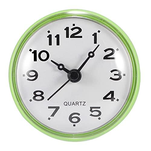 Whuooad Reloj despertador para colgar en la pared, reloj despertador redondo con...