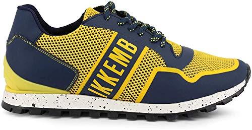 Scarpe basse Sneakers Uomo Giallo (FEND-ER_2084) - Bikkembergs