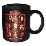for-collectors-only Slipknot Tasse Rusty Faces Kaffeetasse Kaffeebecher Mug Metal Band Becher