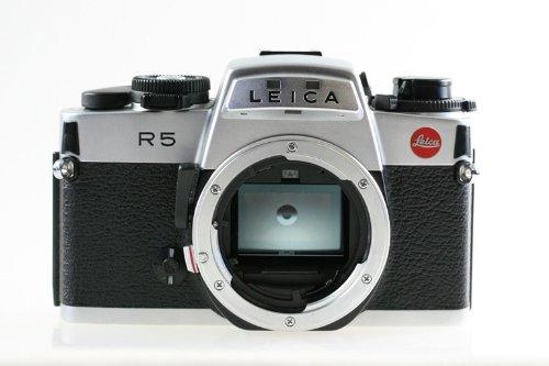 Leica R5 Body Gehäuse R 5 SLR-Kamera Spiegelreflexkamera Silber schwarz