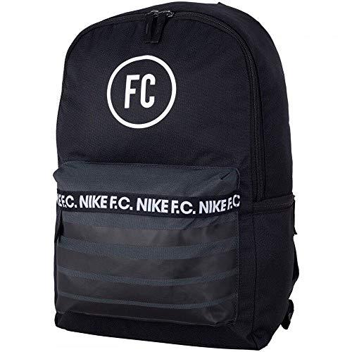 Nike Nk F.C. Bkpk Long Sleeve Top, Men, Black/Anthracite/White, Misc.