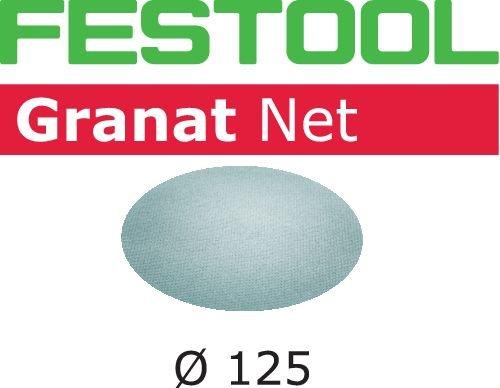 Festool 203296 Schleifnetz STF D125 P120 GR NET/50, stahlgrau