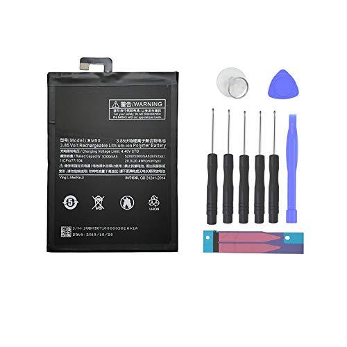 Pattaya BM50 Batería compatible con Xiaomi Mi Max 2 Max2 Kit de repuesto