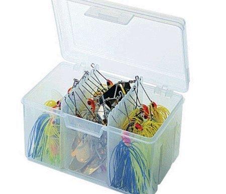 Flambeau Tackle Spinnerbait Utility Box (Clear, 6.5x4.625x4.125-Inch) by Flambeau Tackle
