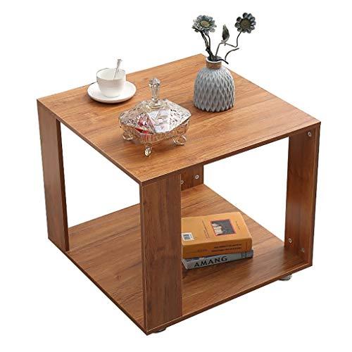 NGQDHR Sofa Armoires latérales Petite Table Basse Coin Petite Table Salon Table de Chevet Casier carré (Couleur : B, Taille : 40 * 40 * 48cm)