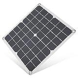 Panel solar flexible de 15W Panel de carga solar monocristalino...