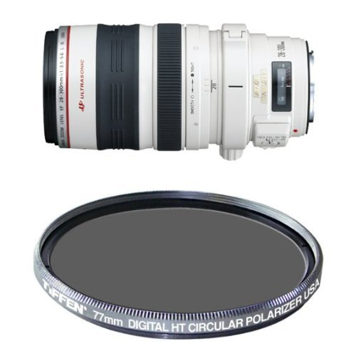 Canon EF 28-300mm f/3.5-5.6L IS USM Lens w/ Tiffen...