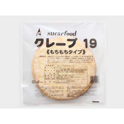 ADEKA食品販売 (冷凍) クレープシート19 もちもち(10枚入)