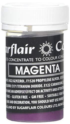 Sugarflair Pastenfarbe - Pastell Magenta - 25g