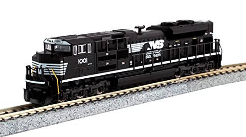 Kato USA Model Train Products N EMD SD70ACe Cab Headlight Version - Norfolk Southern #1001