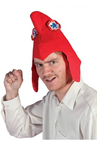 P 'tit Clown 79150phrygische mütze aus WOLLFILZ Erwachsene–Rot, Einheitsgröße