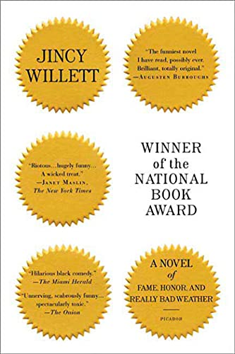 Winner of the National Book Award: A Novel of Fame, Honor, and Really Bad Weather