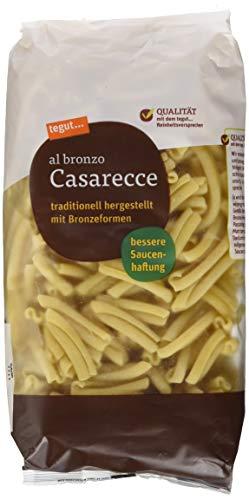 Tegut Italienische Nudeln Casarecce al bronzo - 500 gr Pasta - Teigware aus 100 % Hartweizengrieß -...