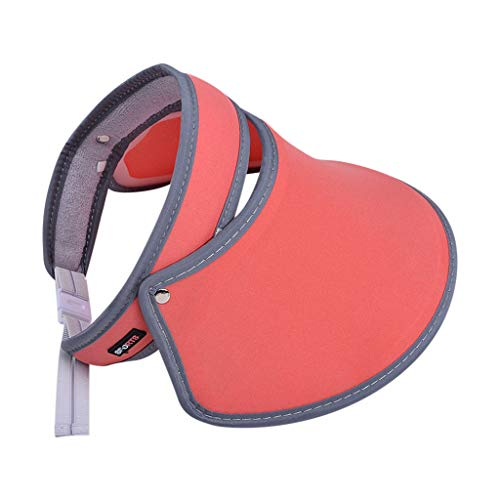 Find Discount KCPer Version Telescopic Empty Top Hat Male Summer Outdoor Beach Folding Sun Hat UV Pr...