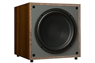 Monitor Audio Monitor MRW-10 3G Walnut Subwoofer from Monitor Audio