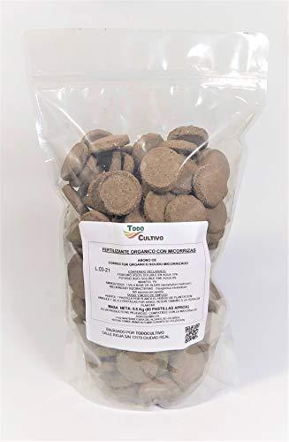 Micorrizas pastillas enraizantes. 70 pastillas aprox. (500grms), Hongo Ascophyllum nodosum Micorrizas y trichodermas de `plantacion