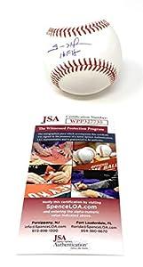 Trevor Hoffman San Diego Padres Signed Autograph Official MLB Baseball HALL OF FAME INSCRIBED JSA Witnessed Certified