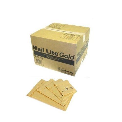 Mail Lite F3 F/3 Easy Seal Luftpolstertaschen, Gold, 50 Stück